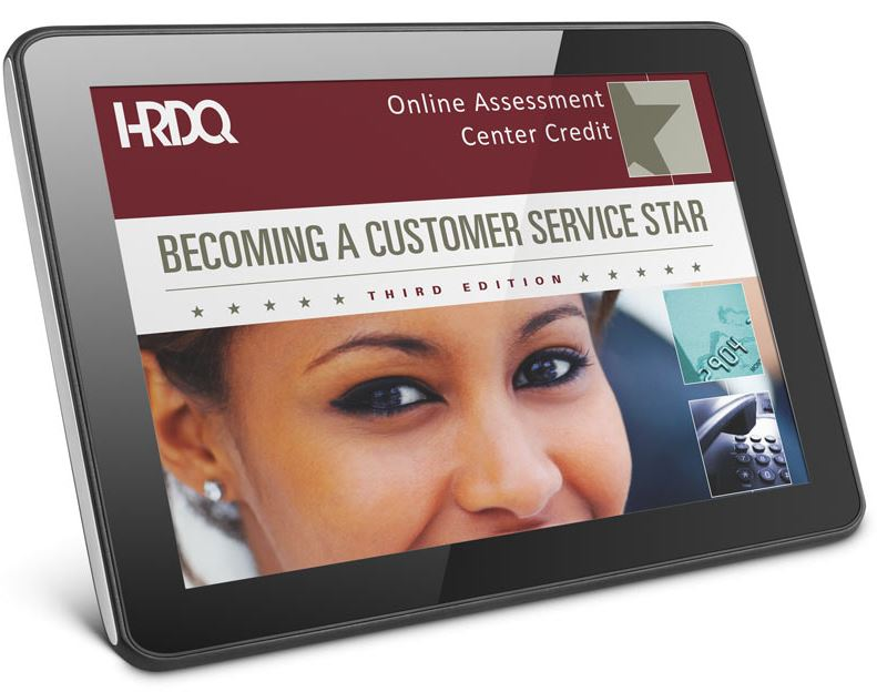 Becoming a Customer Service Star Online Self Assessment
