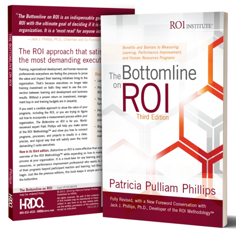 The Bottom line on ROI Workshop - Book
