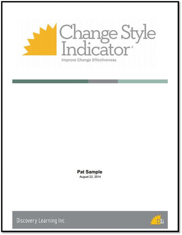 Change Style Indicator Report