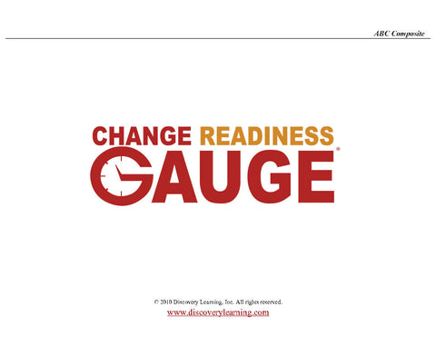 Change Readiness Gauge