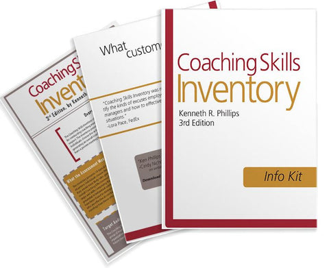 Coaching Skills Inventory - Info Kit