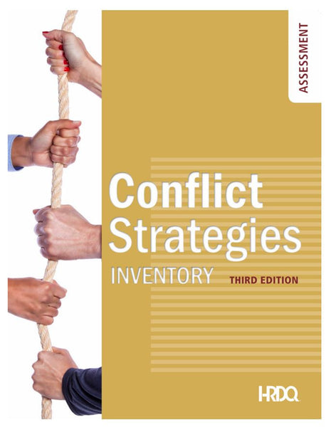 Conflict Strategies Inventory - Self-Assessment