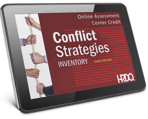 Conflict Strategies Inventory - Self-Assessment (Online)