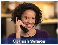 Customer Service Telephone - Spanish