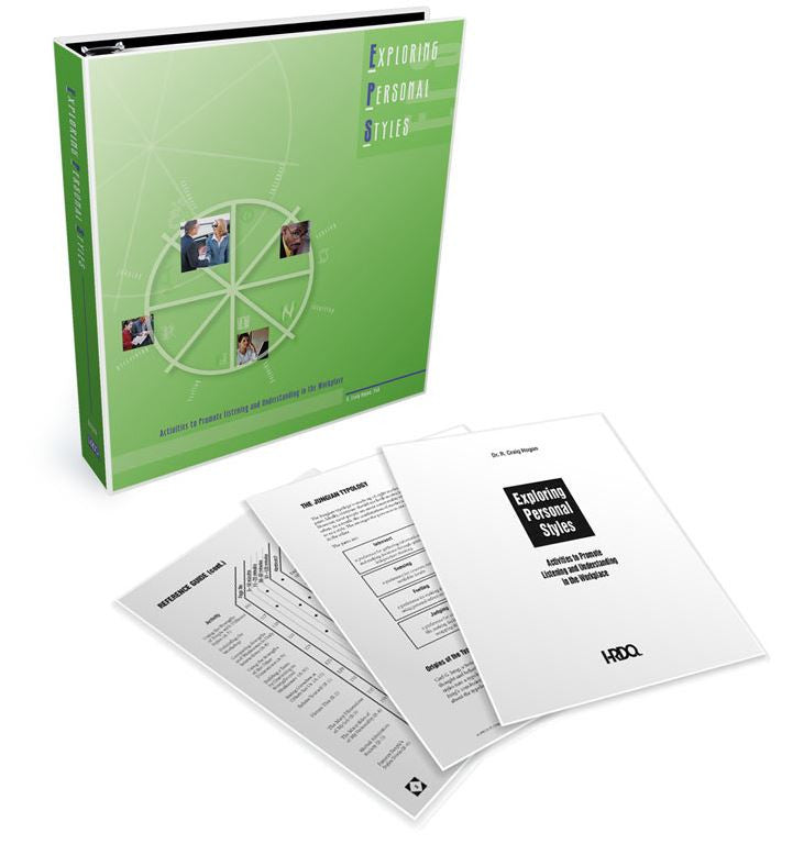 Exploring Personal Styles Activity Collection Binder