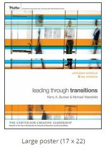 Leading Through Change Transitions Poster