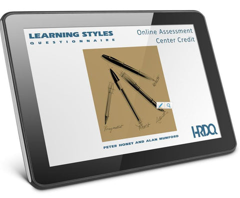 Learning Styles Questionnaire Self Assessment Online