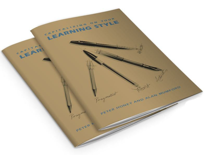 Learning Style Questionnaire Capitalizing on Your Learning Style