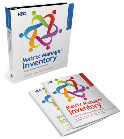 The Matrix Manager Inventory Facilitation Guide