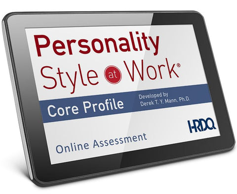 Personality At Work Core Assessment