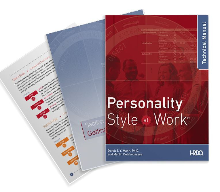 Personality At Work: Technical Manual