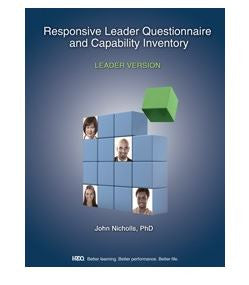 Responsive Leader Questionnaire & Capability Leader Workbook