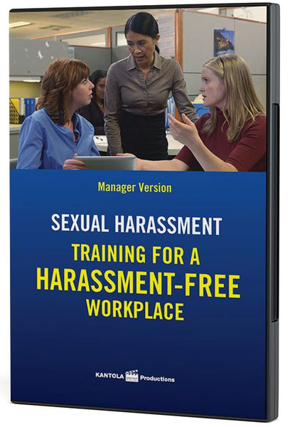 Sexual Harassment: Training for a Harassment- Free Workplace: Manager Edition - DVD