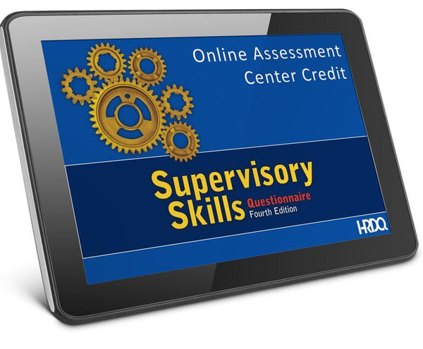 Supervisory Skills Questionnaire Self Assessment online
