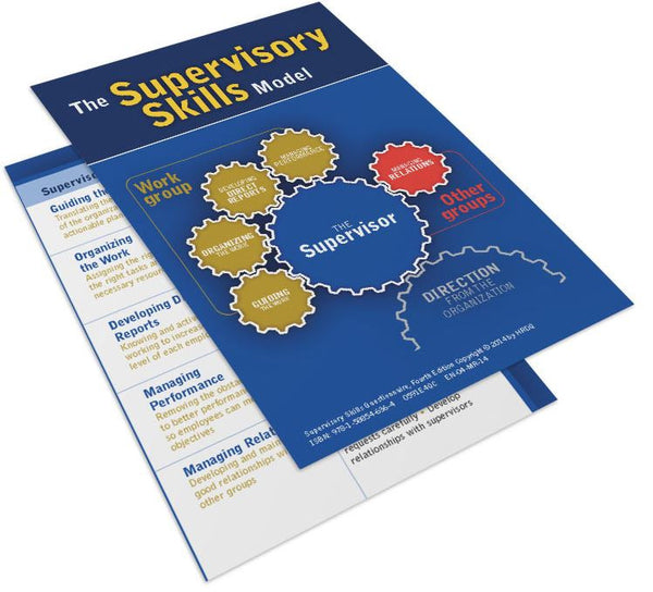 Supervisory Skills Questionnaire Card
