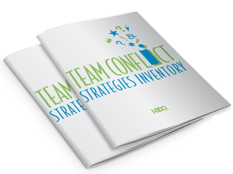 Team Conflict Strategies Inventory Self Assessment