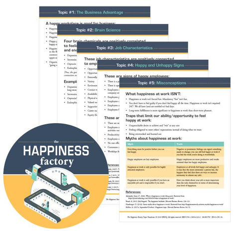 The Happiness Factory Topic Worksheets