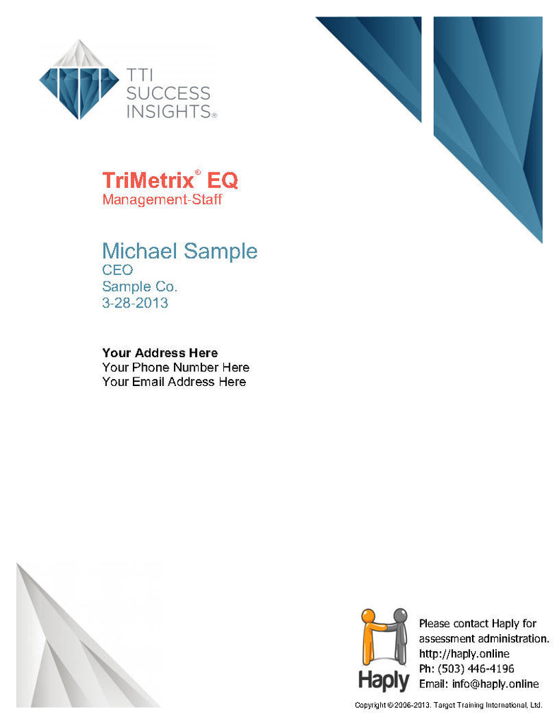 TriMetrix EQ
