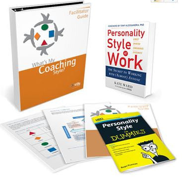 What's My Coaching Style Deluxe Facilitator Set
