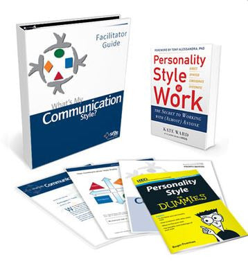 What's My Communication Style Deluxe Facilitator Set