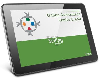 What's My Selling Style online self assessment