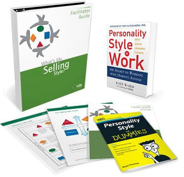 What's My Selling Style Deluxe Facilitator Set