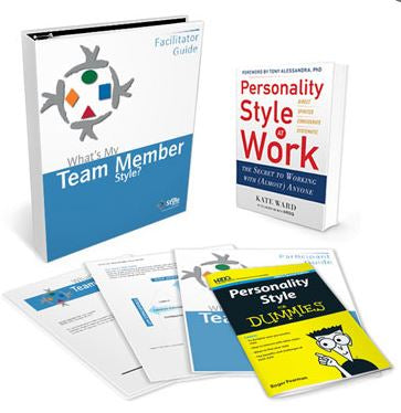 What's My Team Member Style - Deluxe Facilitator Set
