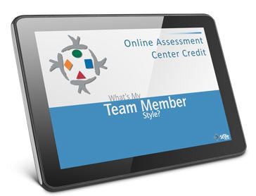 What's My Team Member Style Self Assessment online