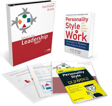 What's My Leadership Style Deluxe Facilitator Set