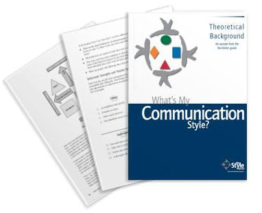 What's My Communication Style Theoretical Background