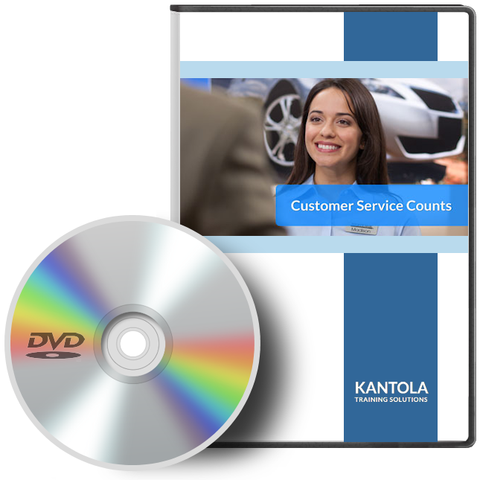 Customer Service Counts - DVD