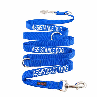 Friendly Dog Collars Double Ended ASSISTANCE DOG Lead/Leash