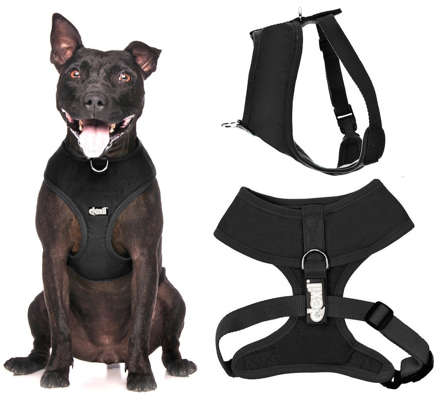 LIQUORICE BLACK - Large Vest Harness