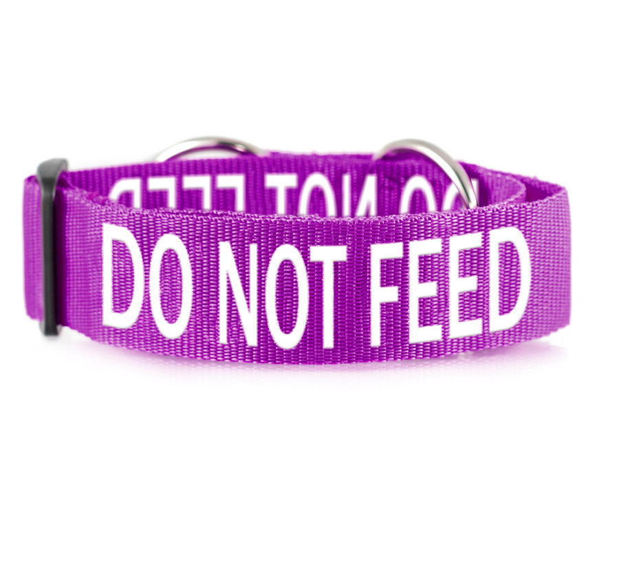 DO NOT FEED - L/XXL Semi Slip Collar