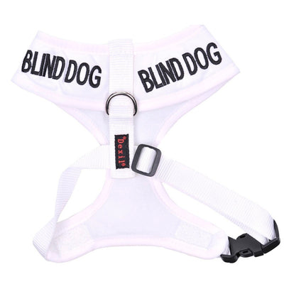 Friendly Dog Collars BLIND DOG Medium Vest Harness
