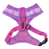 Friendly Dog Collars DO NOT FEED XS Vest Harness