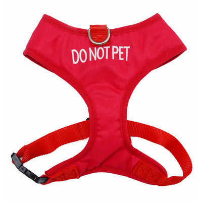 Friendly Dog Collars DO NOT PET Small Vest Harness