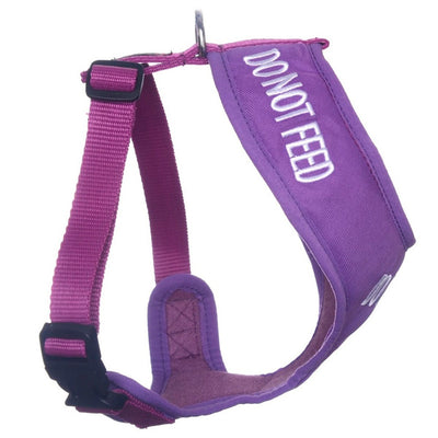 Friendly Dog Collars DO NOT FEED Small Vest Harness