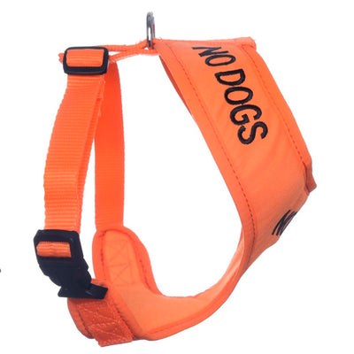 Friendly Dog Collars NO DOGS Medium Vest Harness