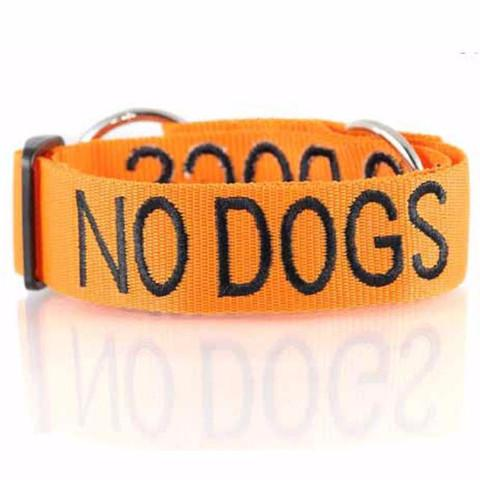 L/XXL Semi Slip Collar - NO DOGS - L/XXL Semi Slip Collar