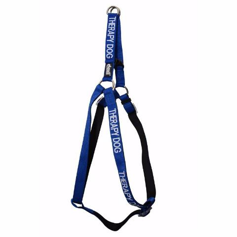 Friendly Dog Collars THERAPY DOG adjustable L/XL Strap Harness