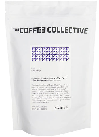 "October 2016 — Kenyan ""Kieni"" from the Coffee Collective"