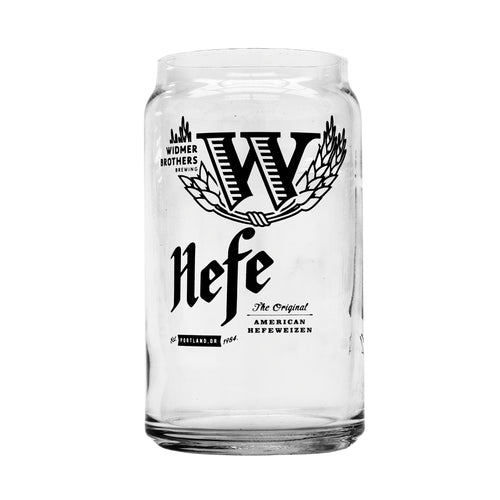 Hefe Can Pint Glass