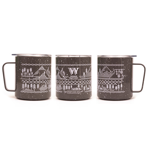 Widmer x MiiR Speckled Camp Cup (12oz) - Grey