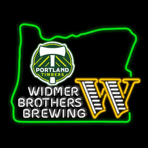 Timbers State Neon Sign