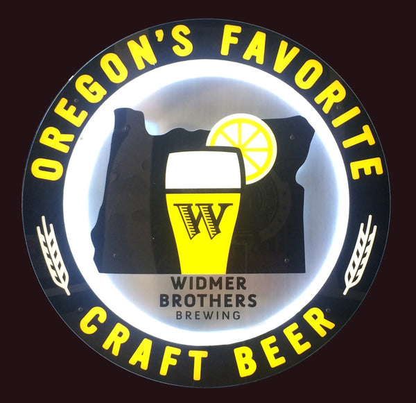 Oregon's Favorite Craft Beer Sign
