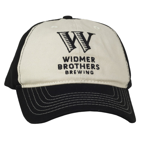 Widmer Contrast Panel Hat - Black / White