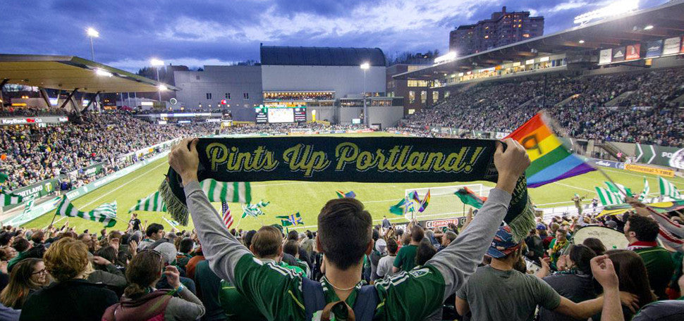 Official Craft Brew of the Portland Timbers