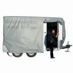 10\'1-12\'  SFS AquaShed  Horse Trailer Cover