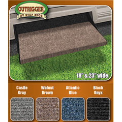 OUTRIGGER RUG (18) BROWN